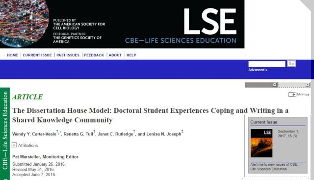 Dissertation House paper